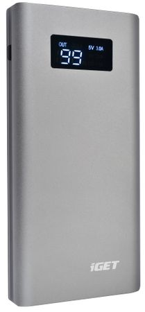 iGET Power B-10000FC (Li-Pol, 10000 mAh / 2x USB, QuickCharge Q3.0)