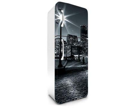 Dimex Fototapeta na chladničku FR-180-018 Boston čiernobiely 180 x 65 cm