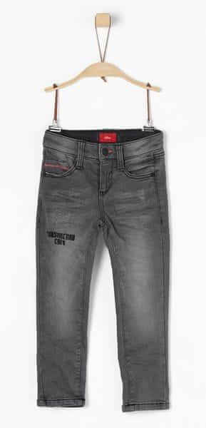 s.Oliver chlapecké kalhoty 134 šedá