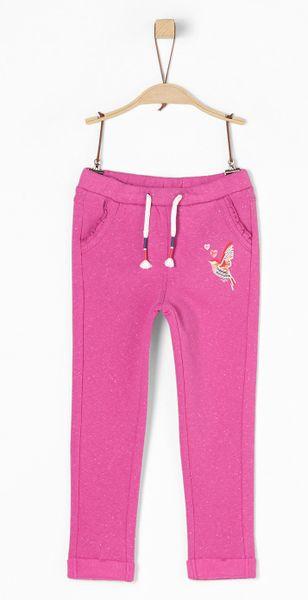 s.Oliver dívčí kalhoty 134 růžová
