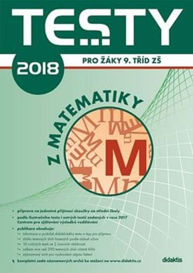 Pupík P. a kolektiv: Testy 2018 z matematiky pro žáky 9. tříd ZŠ