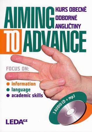 Strnadová Zdenka: Aiming to Advance - Kurs obecně odborné angličtiny + 3CD