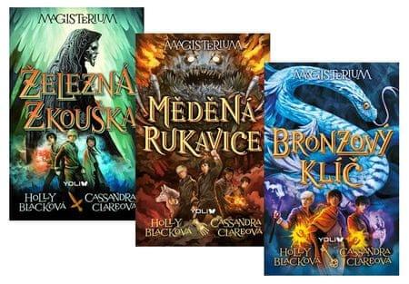 Clareová Cassandra, Blacková Holly: Komplet Magisterium: Železná zkouška + Měděná rukavice + Bronzov