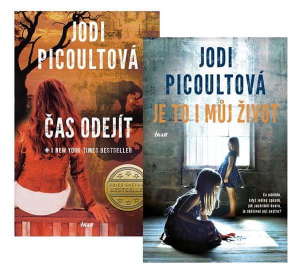 Picoultová Jodi: Komplet Čas odejít + Je to i můj život