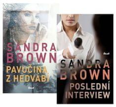 Brown Sandra: Komplet Poslední interview + Pavučina z hedvábí