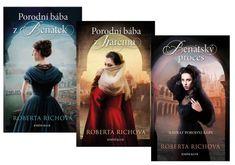 Richová Roberta: Komplet Benátský proces + Porodní bába z harému + Porodní bába z Benátek
