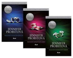 Probstová Jennifer: Komplet Hledání vytouženého dne + Hledání dokonalé lásky + Hledání podmanivé krá