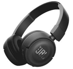 JBL bluetooth slušalke T460BT, črne