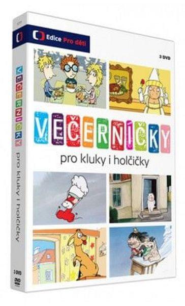 Večerníčky pro kluky i holčičky (3DVD) - DVD