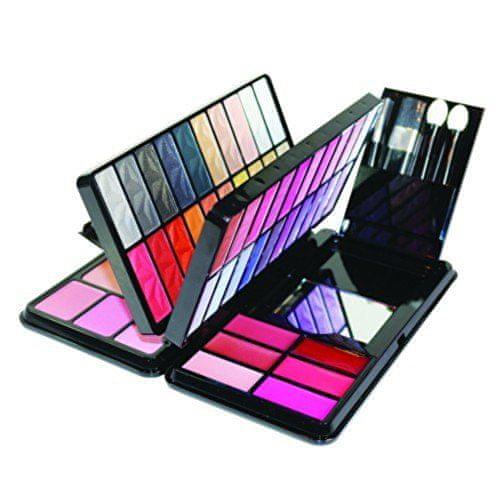 Parisax Sada dekorativní kosmetiky Book Make-Up Palette 96 Colors