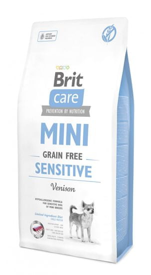 Brit Care Mini Grain Free Sensitive 7 kg - Expirace 9/2021