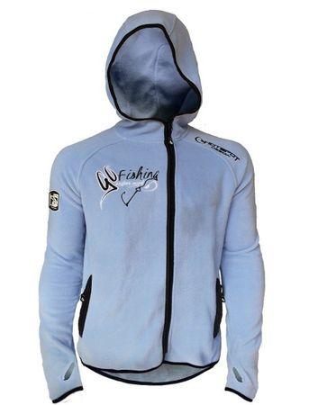 Hotspot Design Mikina Polar Fleece Go Fishing XL