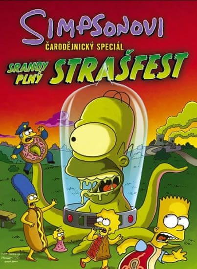 Groening Matt: Simpsonovi Čarodějnický speciál - Srandy plný strašfest