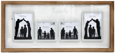 Sifcon fotorámeček, 65x35x2 cm, FAMILY