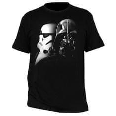 """Tričko Star Wars - """"Vader a Trooper"""" pánské, černé S"""