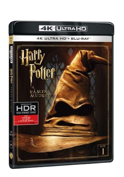 Harry Potter a Kámen mudrců 2BD (UHD+BD) (2 disky) - Blu-ray + 4K ULTRA HD