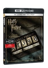 Harry Potter a Vězeň z Azkabanu (2 disky) - Blu-ray + 4K ULTRA HD