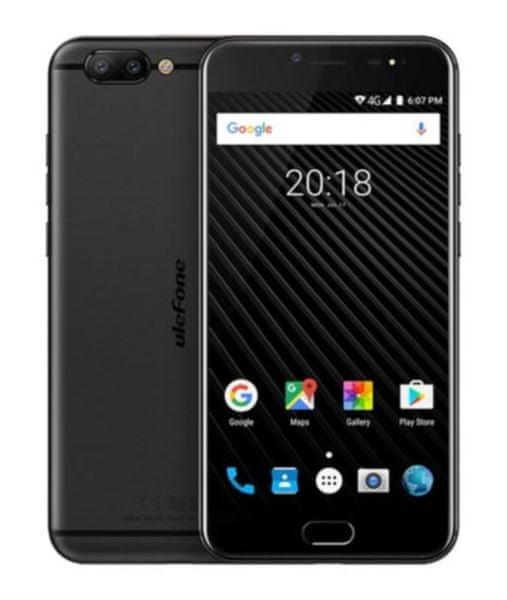 Ulefone T1, DualSIM, černý