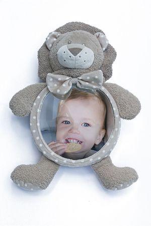 Bo Jungle plyšové zrkadlo Home&Car Lion