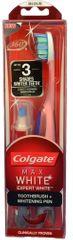 Colgate Max White zubní kartáček (medium) + bělící pero 5 ml