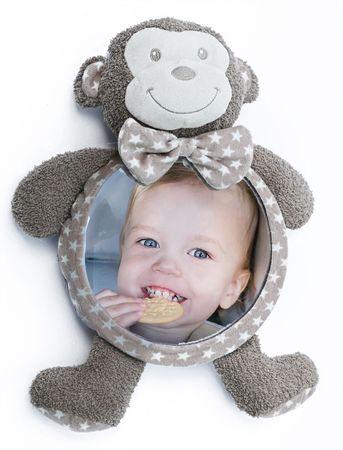 Bo Jungle plyšové zrkadlo Home&Car Monkey
