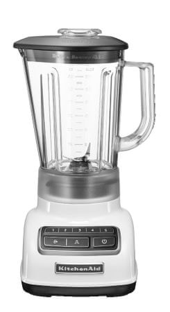 KitchenAid blender 5KSB1565EWH, bel