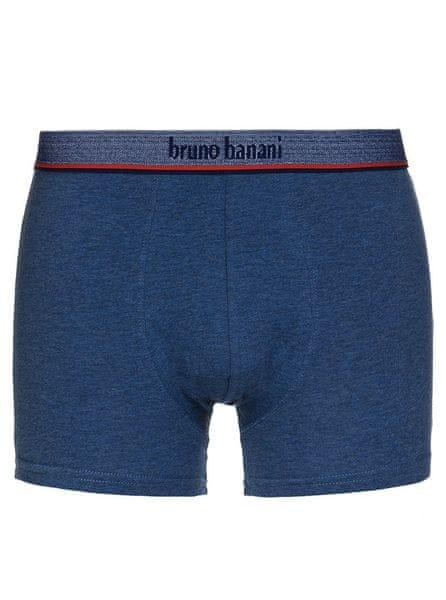 Bruno Banani pánské džínové boxerky Hipshort Leader - Velikost: M