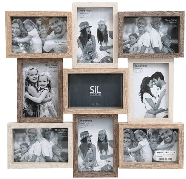 Sifcon 9ks 3D fotorámečků
