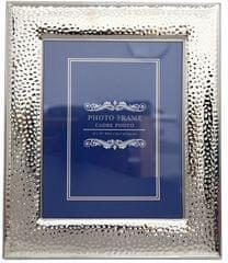 Sifcon rámeček na foto, tepaný, stříbrný 8x10cm