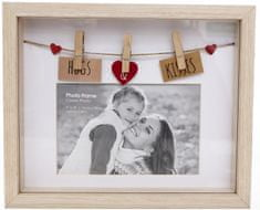 Sifcon fotorámeček 22x18x3 cm/Hugs & Kisses