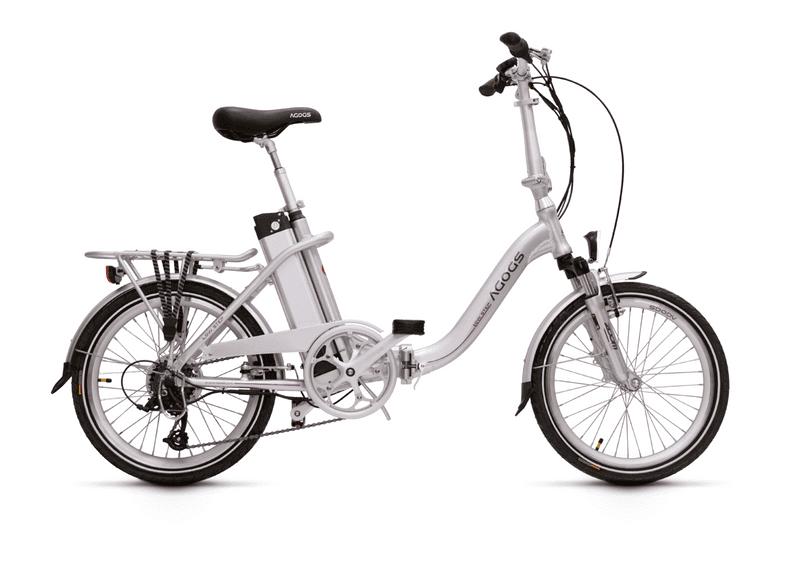 AGOGS LowStep - Stříbrná, 530Wh(14.5Ah)