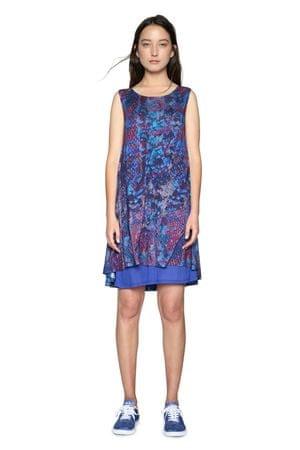 Desigual női ruha Eric XL kék