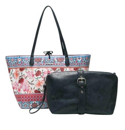 Desigual ženska ročna torbica večbarvna Aria Capr