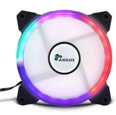 Inter-tech LED ventilator Argus RS01, 120 mm, RGB