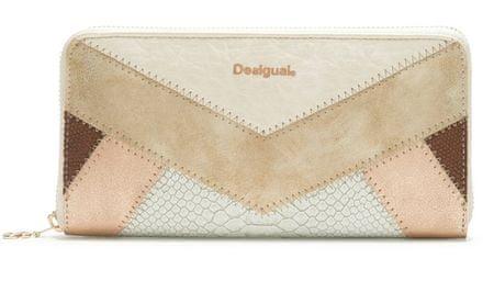 Desigual ženska denarnica smetane Tantra Fiona