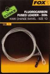 Fox Návazec Fluorocarbon Fused Leader 75 cm 30 lb