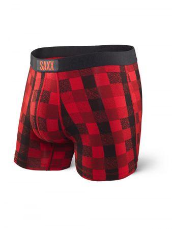 SAXX pánské boxerky M červená