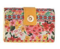 Desigual ženska denarnica rumena Little Lengue