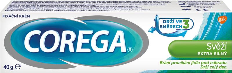 Corega Fixační krém Svěží extra silný 40 g