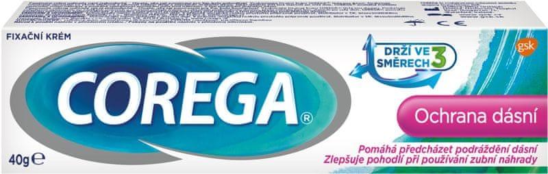 Corega Fixační krém Ochrana dásní 40 g