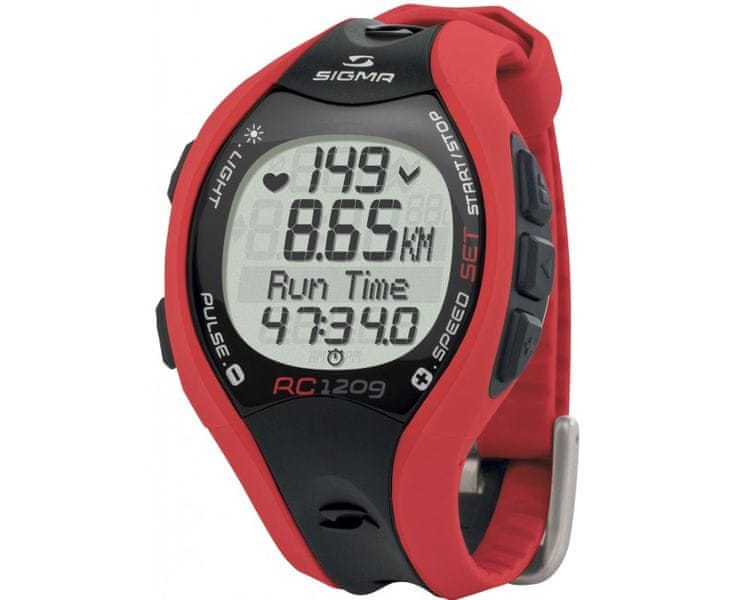 Sigma Sporttester RC 1209 Red