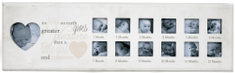 Sifcon fotorámeček - 1. rok BABY, růžový