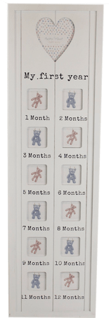 Sifcon fotorámeček, bílý, 1. rok BABY
