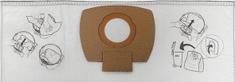Makita vrečke za sesalnik P-72899, 5 kosov
