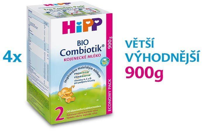HiPP 2 BIO Combiotik - 4x900g