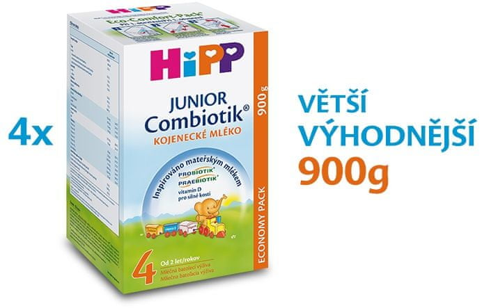 HiPP 4 Junior Combiotik - 4 x 900g