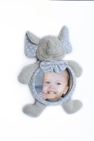 Bo Jungle plyšové zrkadlo Home&Car Elephant