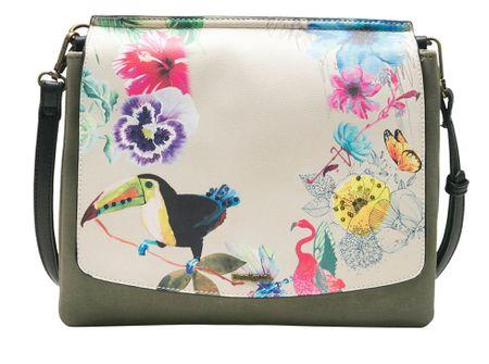Desigual khaki kabelka Lilac Amberes