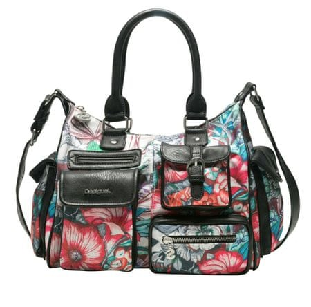 Desigual ženska torbica večbarvna Yandi London Medium