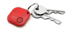 Fixed Smile - lokalizačný čip, červený